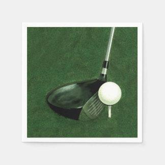 golf disposable napkin