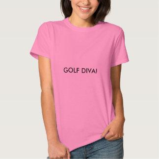 Golf Diva women's pink t-shirt