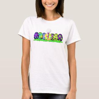 Golf Easter Egg Row Women's T-shirt