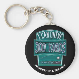 Golf Equipment ID Tag - Funny Golf Joke Key Ring