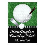 Golf Event - SRF 13 Cm X 18 Cm Invitation Card