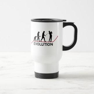 Golf Evolution 15 Oz Stainless Steel Travel Mug