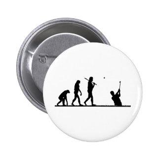 golf evolution 6 cm round badge