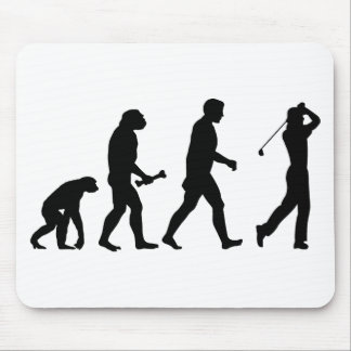Golf Evolution Mouse Pad