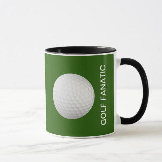 Golf Fanatic Coffee Gift Mug