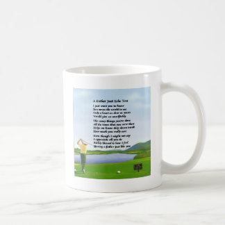 Golf - Father Poem Coffee Mug
