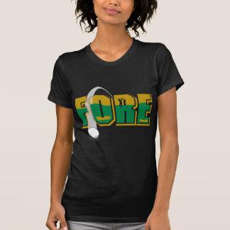 Golf Fore T-Shirt Tee Shirts