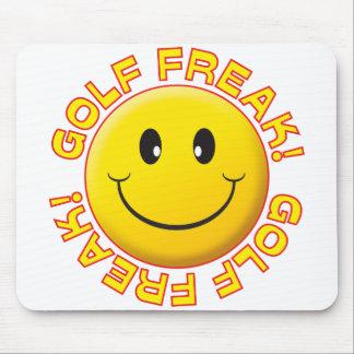 Golf Freak Smile Mouse Mats