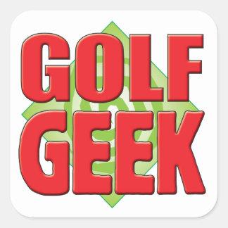 Golf Geek v2 Stickers