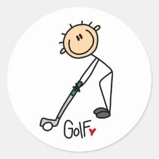 Golf Gift Round Sticker