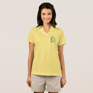 Golf Girl Accent Nike Dri-FIT Pique Polo Shirt