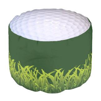 Golf Golfball Grass Novelty Sports Pouf