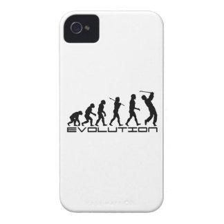 Golf Golfer Golfing Sport Evolution Art iPhone 4 Case-Mate Cases