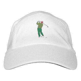 GOLF - Golfer with Club Golf Hat