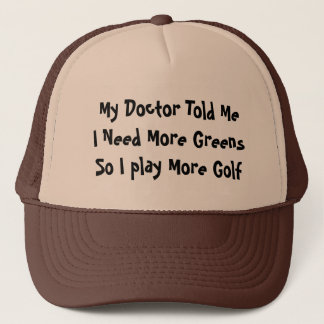 Golf Greens Trucker Hat