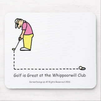 Golf Greetings mousepad