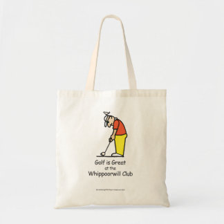 Golf Greetings Tote Bag Illustration 2