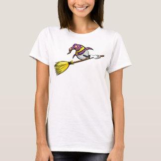 Golf Halloween Witch T-Shirt