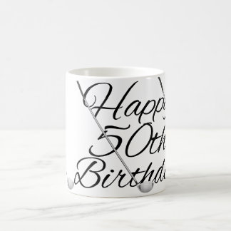 Golf Happy Birthday Coffee Mug