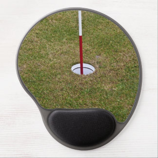 Golf hole gel mouse pad