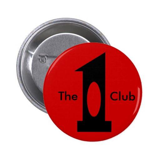 Golf - Hole in 1 Club (black) Button