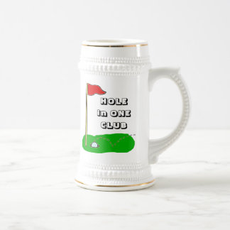 Golf Hole in One Club Custom Bragging Beer Steins