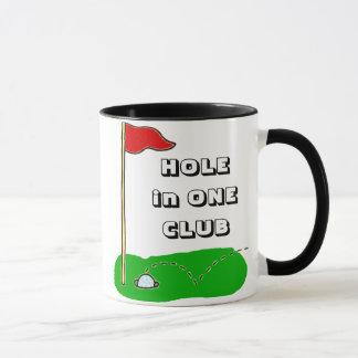 Golf Hole in One Club Custom Personalised Mug