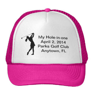 Golf Hole-in-one Commemoration Customizable Cap