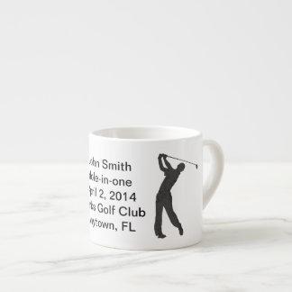 Golf Hole-in-one Commemoration Customizable Espresso Mug