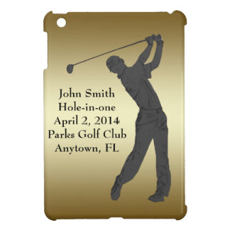 Golf Hole-in-one Commemoration Customizable iPad Mini Cases