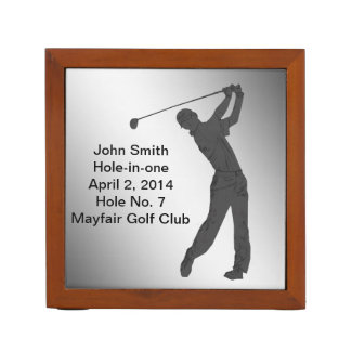 Golf, Hole-in-one Commemoration, Reversible Desk Organiser