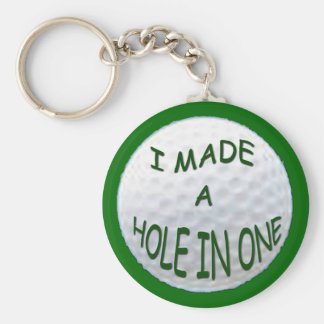 GOLF -  HOLE IN ONE Keychain