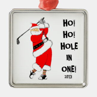 Golf Hole-in-one Metal Ornament
