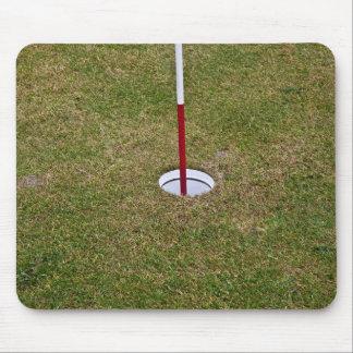 Golf hole mousepad