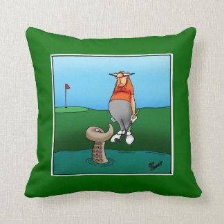 Golf Humour Pillow Gift