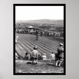 Golf in Scotland 1926 Poster