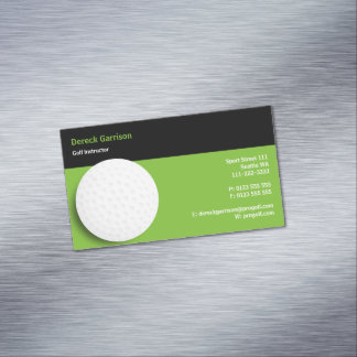 Golf Instructor | Perfect Magnetic Business Card