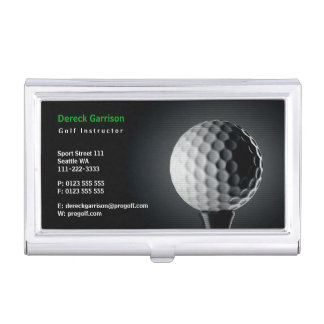 Golf Instructor | Perfect Sport Business Card Holder