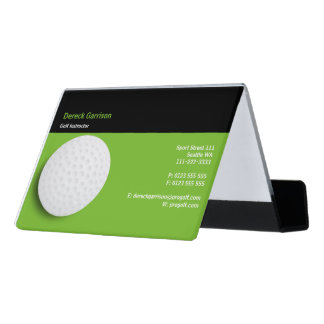 Golf Instructor | Perfect Sport Desk Business Card Holder