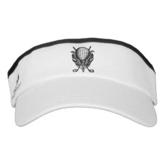 Golf Instructor Pro Golfer Course Tee Clubs Gift Visor