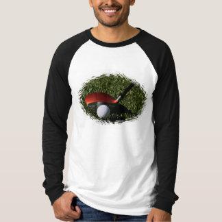 Golf Iron and Ball Long Sleeve T-Shirt