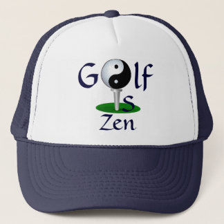 """Golf is Zen"" hat"