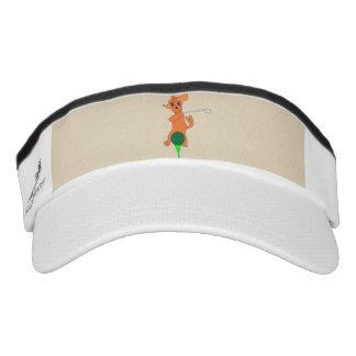 Golf Knit Visor - Happy Golfing!