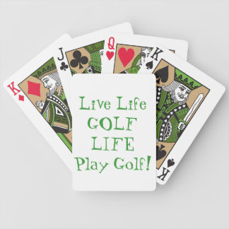 Golf Life playing cards