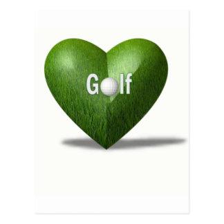Golf Lover Design Postcard