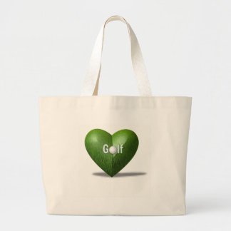 Golf Lover Design Tote Bag