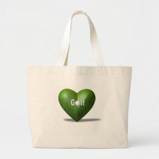 Golf Lover Design Tote Bag