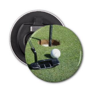 Golf Making Par, Magnetic Bottle Opener. Bottle Opener