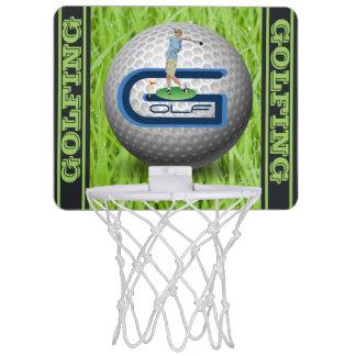 Golf Mini Basketball Hoop