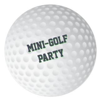 Golf Mini-golf Putt-Putt Golfing Birthday Party Card